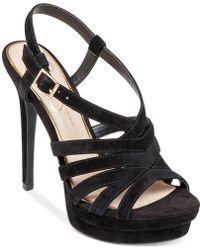 Jessica Simpson Peace Caged Platform Sandals - Lyst