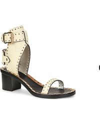 Isabel Marant Jaeryn Studded Sandals - For Women - Lyst