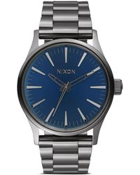 Nixon 'The Sentry 38 Ss' Watch gray - Lyst