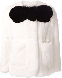Marc Jacobs Rex Rabbit Fur Jacket - Lyst