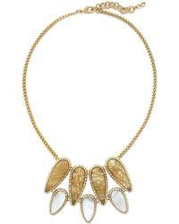 Cole Haan - Golden Lights Semi-precious Collar Necklace - Lyst