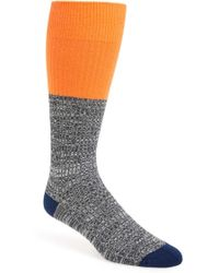 Mr Gray - Textile Colorblock Socks - Lyst