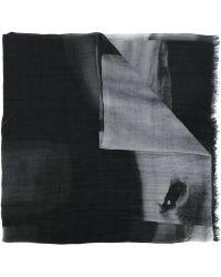 Lost & Found - Horse Print Scarf - Lyst