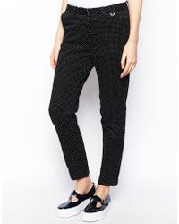 Fred Perry - Spot Trousers - Lyst