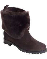 Kate Spade Sari Suede Boots - Lyst