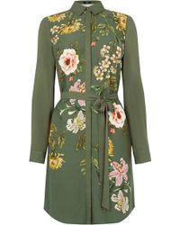 Oasis | Floral Print Shirt Dress | Lyst