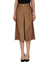 Gianfranco Ferré 3/4 Length Skirt - Lyst