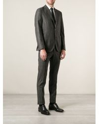 Boglioli Check Pattern Suit - Lyst