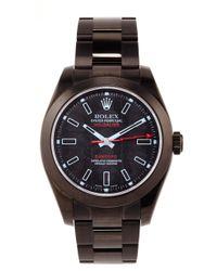 Bamford Watch Department Bamford Monogrammable Milgauss black - Lyst