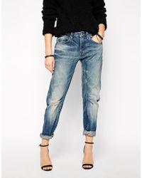 G-Star RAW G Star Arc 3D Boyfriend Jeans - Lyst