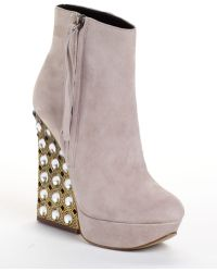 Boutique 9 Emlyn Embellished Suede Boots - Lyst