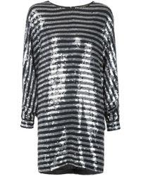 Saint Laurent | Sequin Shift Dress | Lyst