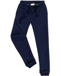 Sunspel - Women's Loopback Cotton Track Pant - Lyst