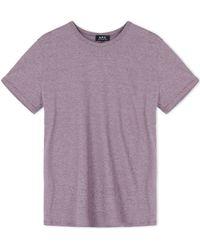 A.P.C. | Short Sleeve T-shirt | Lyst