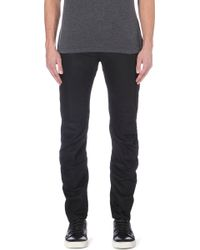 G-star Raw Raw For The Oceans Arc 3d Slimfit Tapered Jeans Black - Lyst