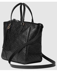 Gucci - Bree Guccissima Top Handle Bag - Lyst