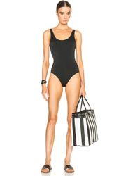 Solid & Striped Anne Marie Swimsuit black - Lyst