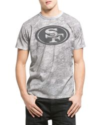 47 Brand - 'san Francisco 49ers - Marble' Graphic Crewneck T-shirt - Lyst