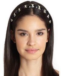 Marni - Strass Jeweled Headband - Lyst