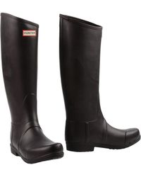 Hunter Boots brown - Lyst