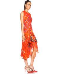 Preen Payne Silk Dress - Lyst