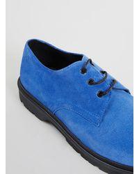 Lac Leonard Blue Suede E Shoes - Lyst