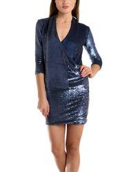 IRO Baly Sequin Dress blue - Lyst