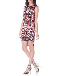 Sam Edelman Printed High-Low Dress - Lyst