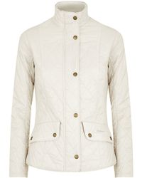 Barbour Fly Weight Cavalry Quilt Jacket - Lyst