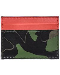 Valentino | Leather Credit Card Cover | Lyst
