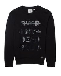 Cheap Monday Per Sweatshirt With Over My Synth Body Print - Lyst