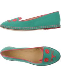 Charlotte Olympia   Moccasins   Lyst
