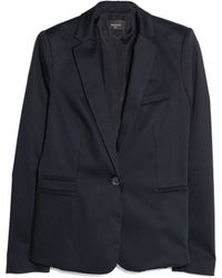 Mango Cotton Suit Blazer - Lyst