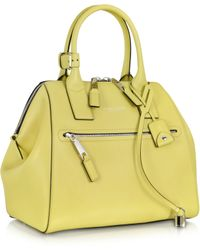 Marc Jacobs Smooth Large Incognito Absinthe Handbag - Lyst