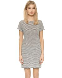 Air By Alice + Olivia - Bellamy Stripe Rolled Sleeve Dress - Lyst