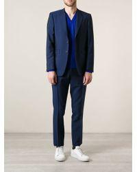Burberry Brit Blue Classic Suit - Lyst
