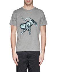 PS by Paul Smith Digital Animal Print T-Shirt - Lyst