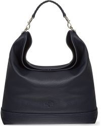 Mulberry Effie Spongy Pebbled Leather Hobo Blue - Lyst