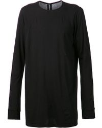 DRKSHDW by Rick Owens Black Basic T-shirt - Lyst