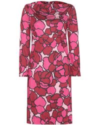 Marc Jacobs Printed Dress - Lyst