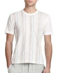 YMC Chain-Stitched Cotton T-Shirt - Lyst