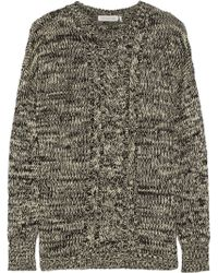 Etoile Isabel Marant Damia Cable-knit Wool Sweater - Lyst