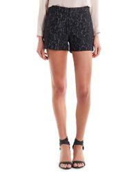 Joie Black Ivonette Shorts - Lyst