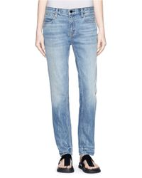 Alexander Wang 'Wang 002' Relaxed Jeans - Lyst