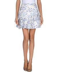 Paul & Joe Mini Skirt - Lyst