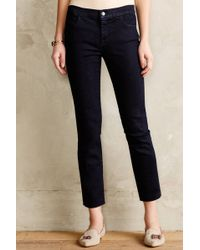 J Brand Tailored Crop Skinny Jeans - Lyst
