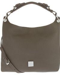 Mulberry Freya Small Leather Hobo Bag - Brown