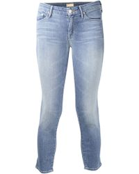 Mother Another Time Around Looker Crop Skinny Jean - Lyst