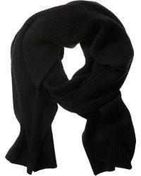 Banana Republic | Waffle-knit Extra-fine Merino Wool Scarf | Lyst