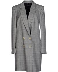 Pedro Del Hierro Madrid - Overcoat - Lyst